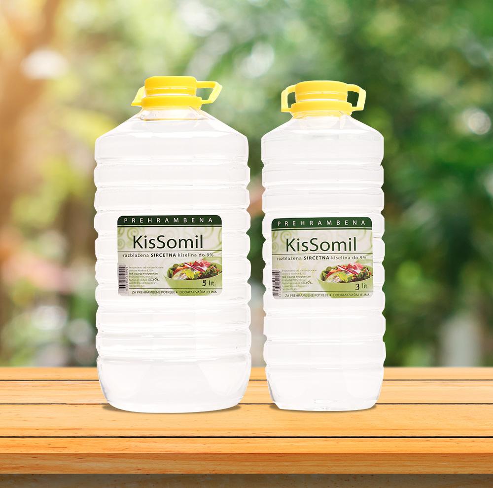 KisSomil - Sirćetna kiselina 5000ml / 3000ml